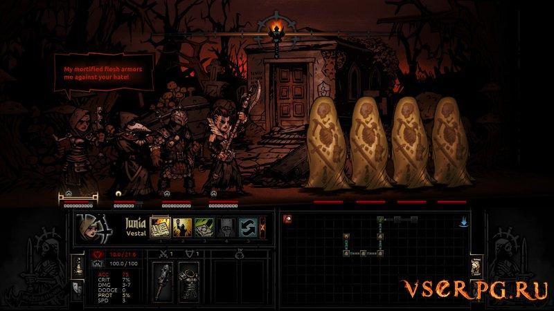 Darkest Dungeon screen 3
