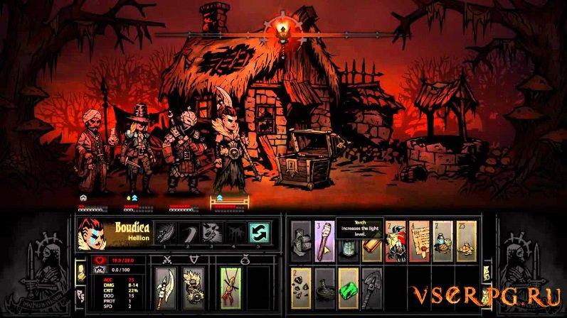 Darkest Dungeon screen 1