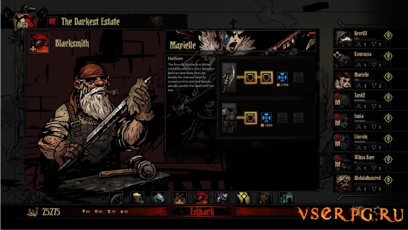 Darkest Dungeon screen 2
