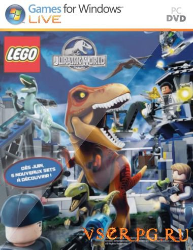 Постер игры LEGO Jurassic World