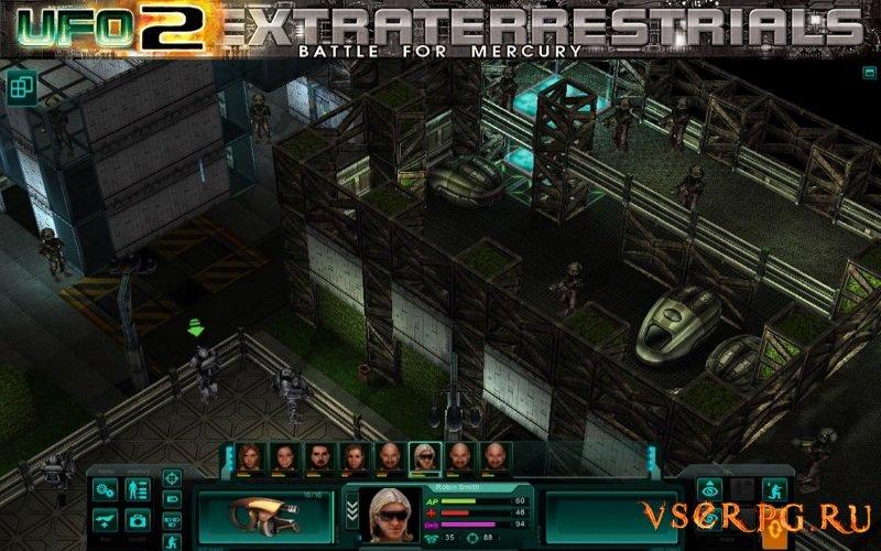 UFO2Extraterrestrials: Battle for Mercury screen 3