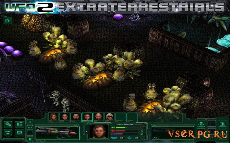 UFO2Extraterrestrials: Battle for Mercury screen 2