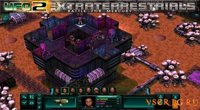UFO2Extraterrestrials: Battle for Mercury screen 1