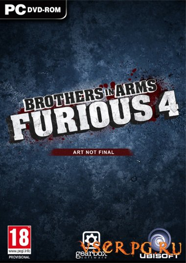 Постер игры Brothers in Arms: Furious 4