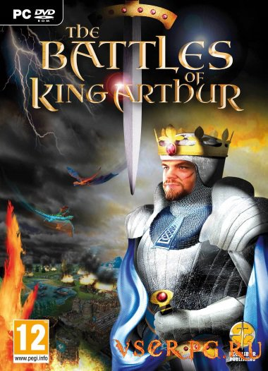 Постер игры The Battles of King Arthur