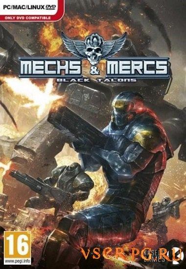 Постер игры Mechs & Mercs Black Talons
