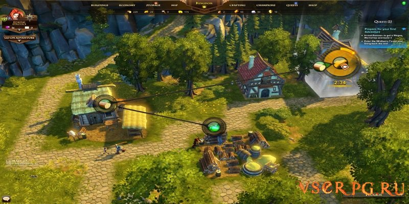 The Settlers Kingdoms of Anteria screen 1