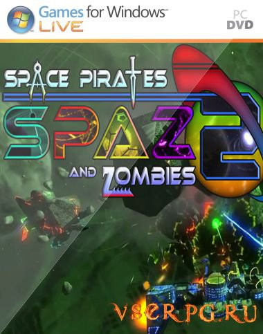 Постер игры Space Pirates and Zombies 2