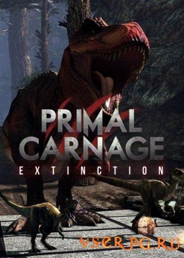 Постер игры Primal Carnage Extinction