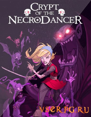 Постер игры Crypt of the NecroDancer