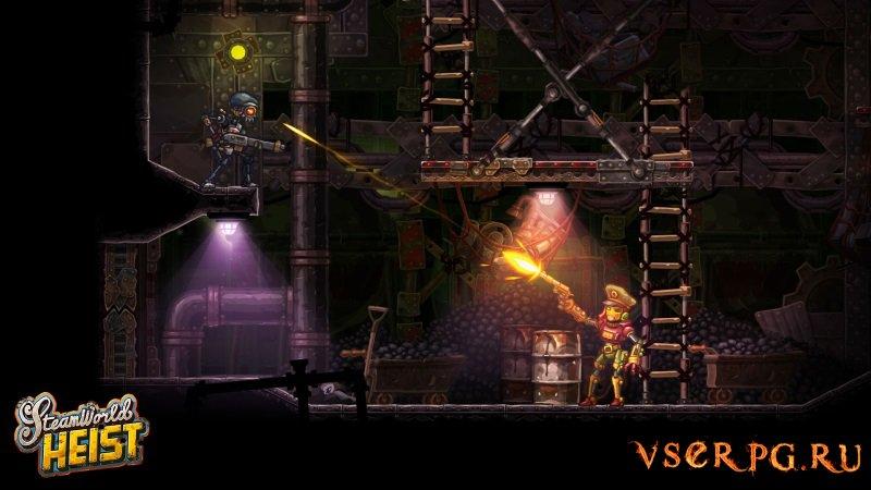 SteamWorld Heist screen 2