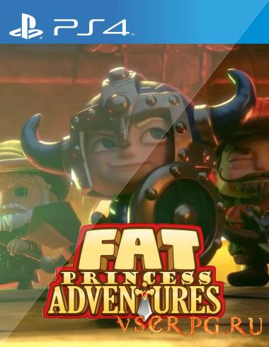 Постер игры Fat Princess Adventures