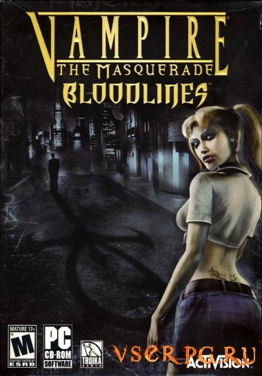 Постер игры Vampire The Masquerade Bloodlines