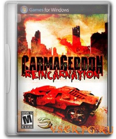 Постер игры Carmageddon Reincarnation
