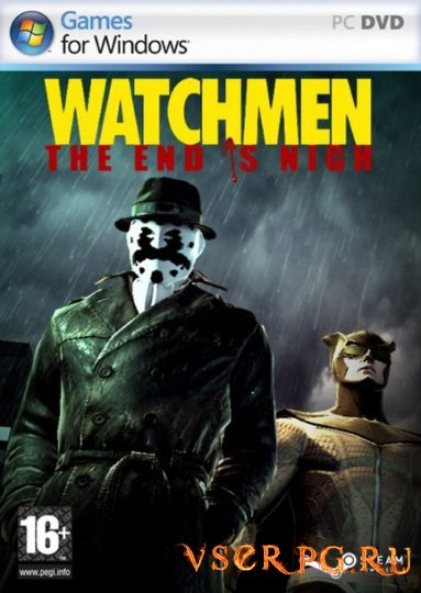 Постер игры Watchmen The End is Nigh