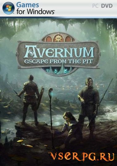 Постер игры Avernum Escape from the Pit