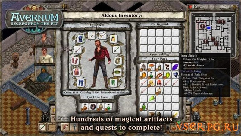 Avernum Escape from the Pit screen 3
