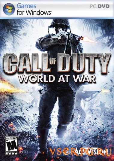 Постер игры Call of Duty World at War