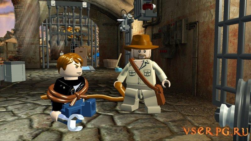 Лего Индиана Джонс 2 screen 2