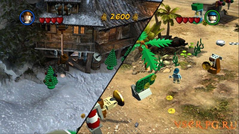 Лего Индиана Джонс 2 screen 3