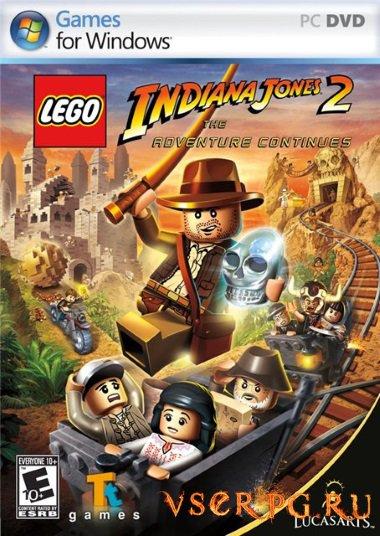 Постер игры Лего Индиана Джонс 2