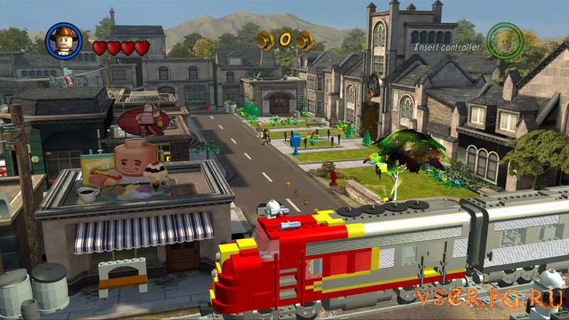 Лего Индиана Джонс 2 screen 1