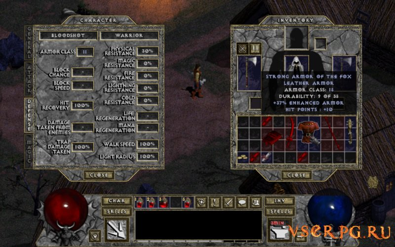 Diablo 1 screen 3