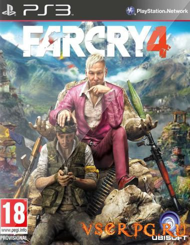 Постер игры Far Cry 4 [PS3]