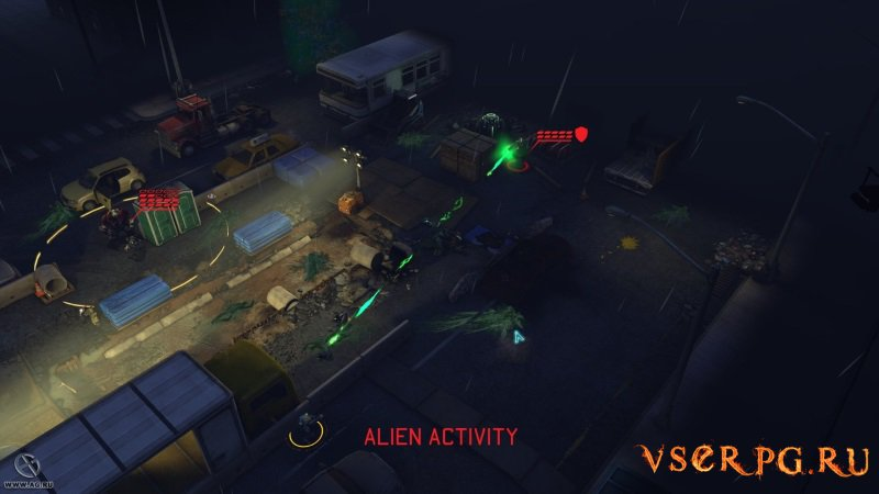 XCOM: Enemy Unknown screen 1