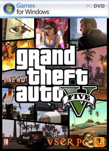 Постер игры Grand Theft Auto V PC