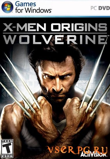 Постер игры X-Men Origins Wolverine