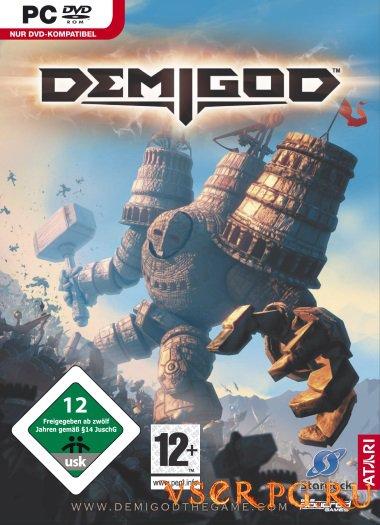 Постер игры Demigod