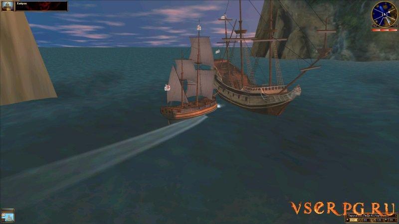 Корсары: Проклятье дальних морей screen 1