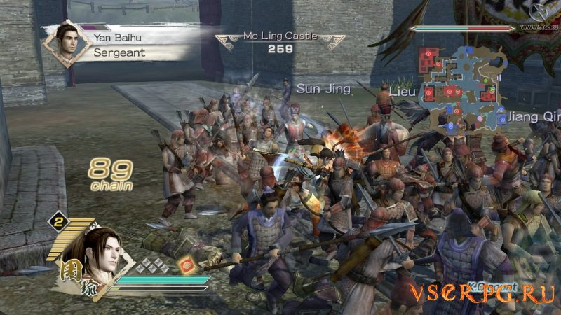 Dynasty Warriors 6 screen 2