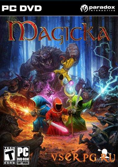 Постер игры Magicka