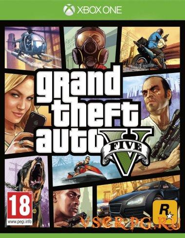 Постер игры GTA 5 [Xbox One]