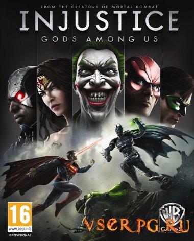 Постер игры Injustice Gods Among Us