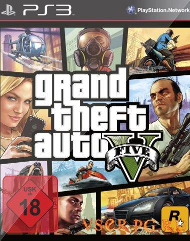 Постер игры GTA 5 [PS3]