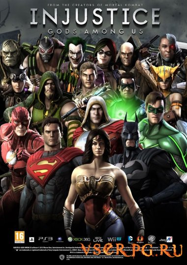 Постер игры Injustice Gods Among Us [Android]