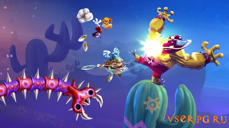 Rayman Legends screen 1