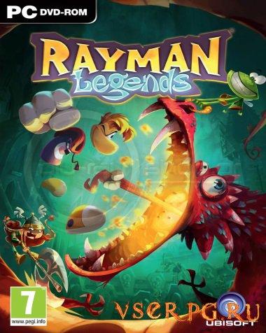 Постер игры Rayman Legends