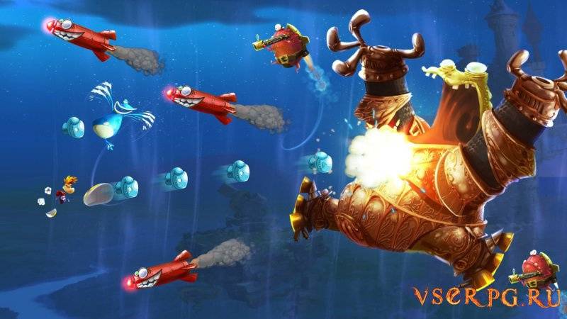 Rayman Legends screen 2