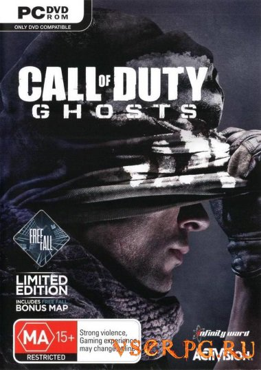 Постер игры Call of Duty Ghosts