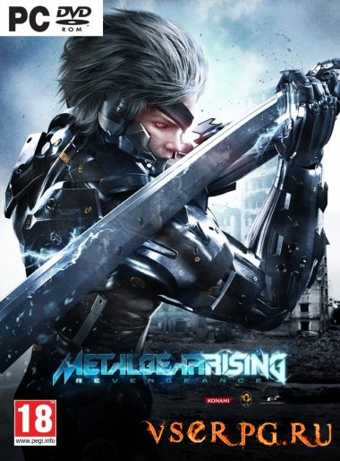 Постер игры Metal Gear Rising: Revengeance