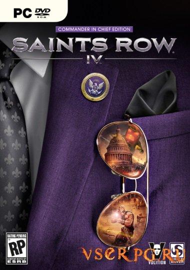 Постер игры Saints Row 4