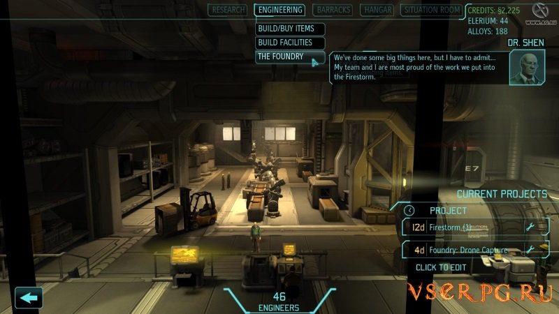XCOM Enemy Within screen 1