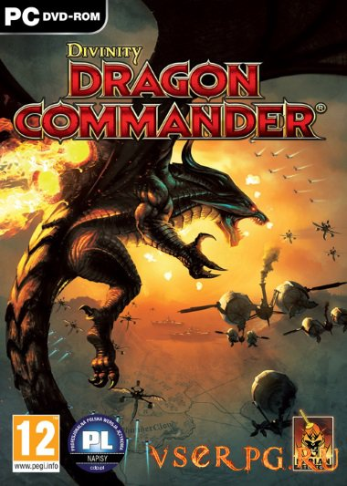 Постер игры Divinity Dragon Commander