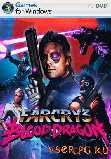 Постер игры Far Cry 3 Blood Dragon