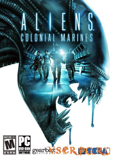 Постер игры Aliens Colonial Marines
