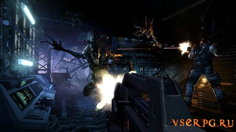 Aliens Colonial Marines screen 3